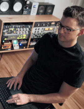 music producer and mixer Jesse Ray Ernster