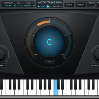 Auto-Tune Pro Screen