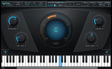 Antares Auto-Tune screen
