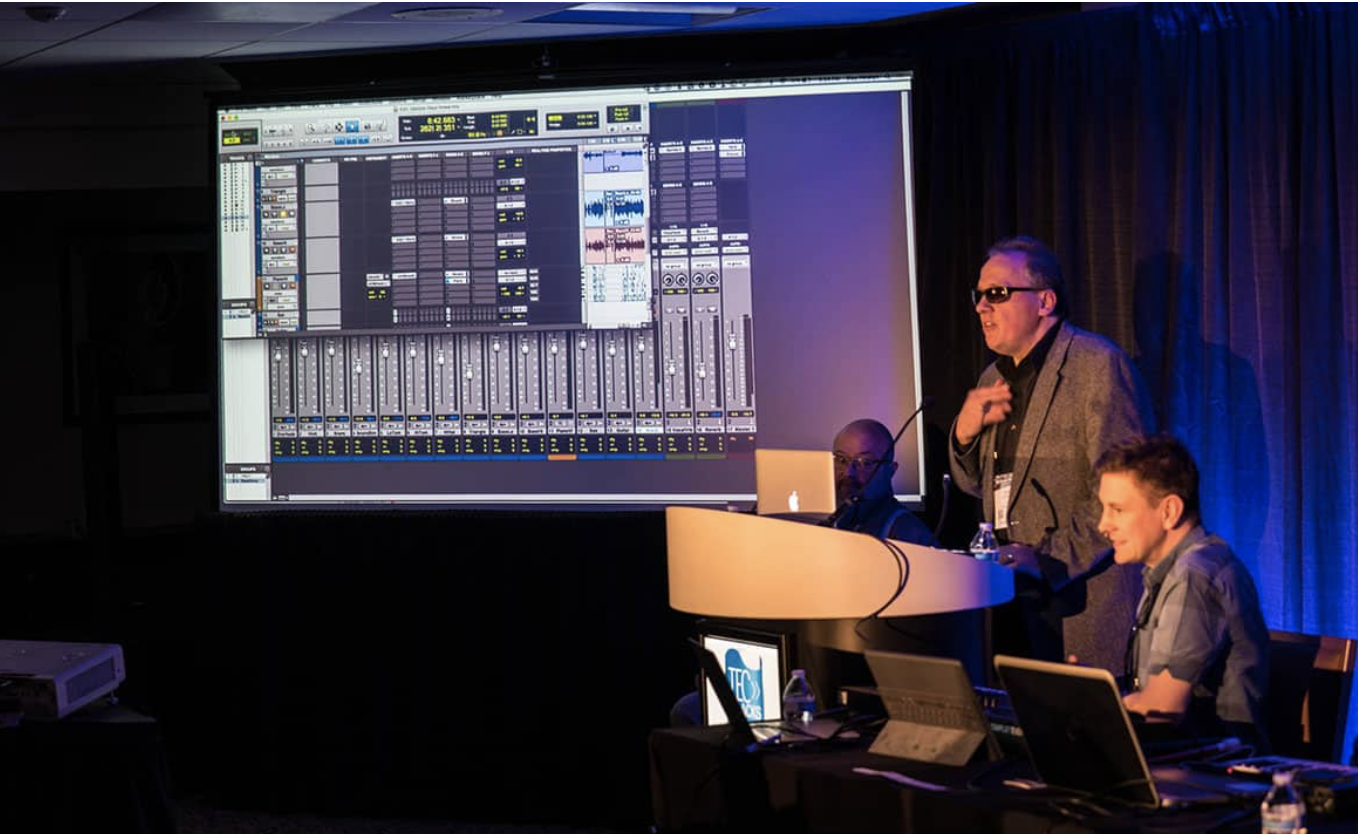 making music production accessible for the visually impaired
